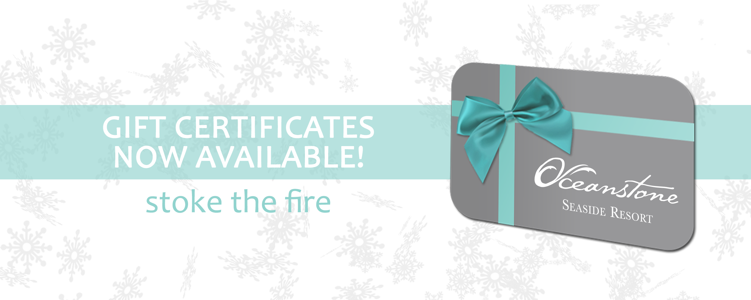 Gift Certificates For Oceanstone Seaside Resort Perfect For The