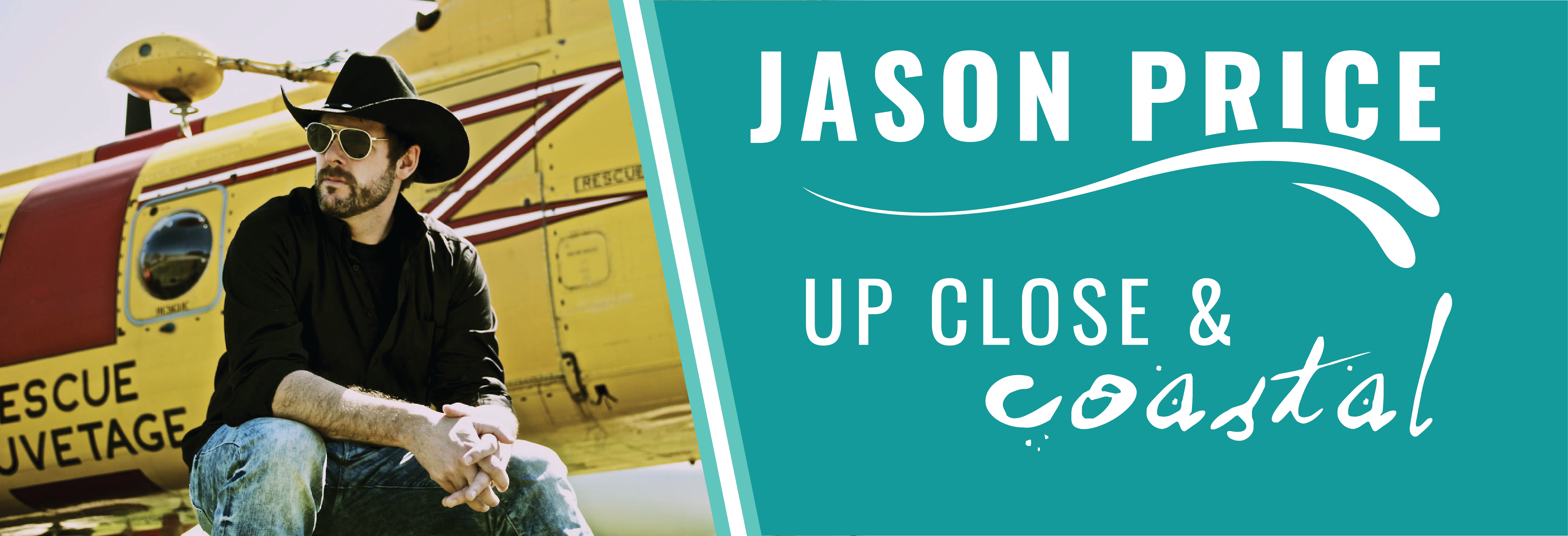 Jason Price: Up Close and Coastal Country show at Oceanstone Seaside Resort