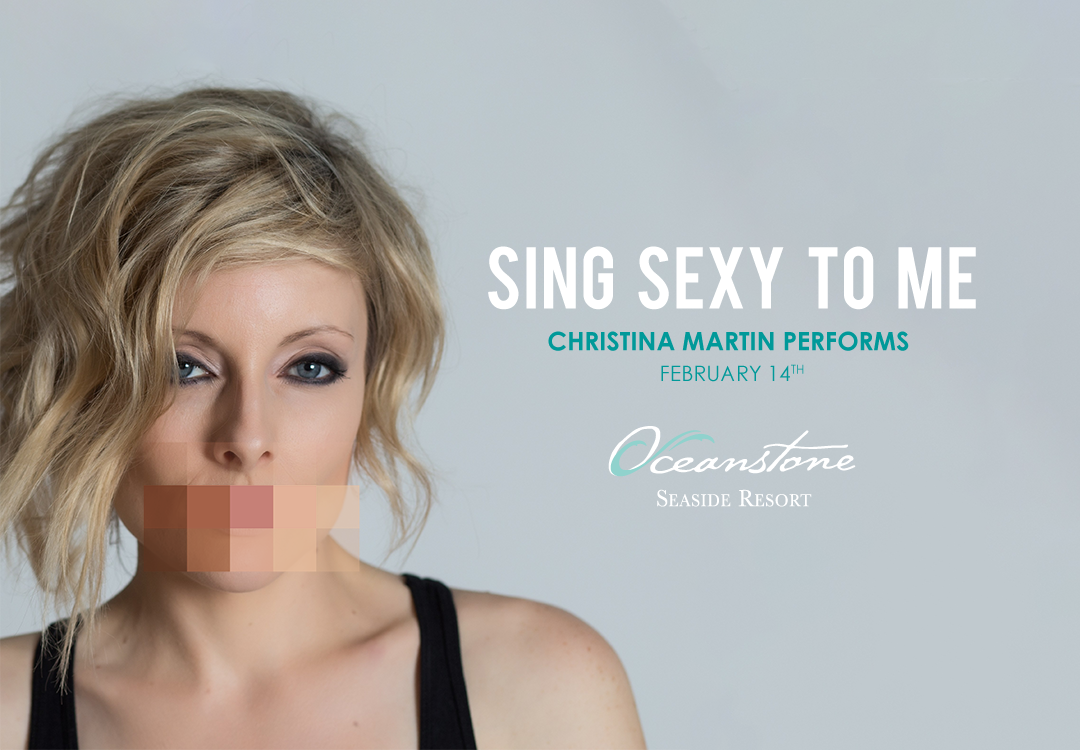 Sing Sexy to Me — Christina Martin Performs February 14th